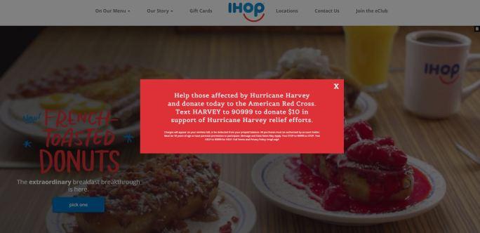 IHOP Harvey Donation Page.JPG